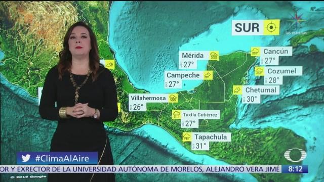 Foto: Clima Al Aire Frente frío 13 provocará lluvias