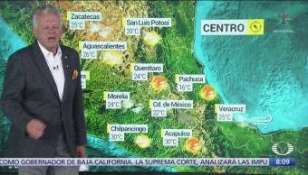 FOTO: Clima Al Aire: Frente frío 8 y onda tropical 48 provocarán lluvias, 1 noviembre 2019