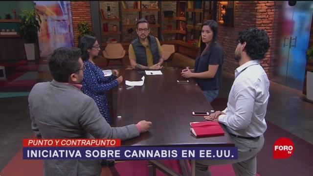 Foto: Comité Aprueba Iniciativa Regular Cannabis Estados Unidos 21 Noviembre 2019