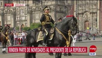 FOTO: Concluye desfile 20 de noviembre Zócalo CDMX,