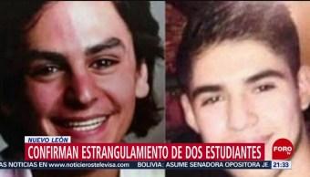 FOTO: Confirman estrangulamiento de dos estudiantes en Nuevo León, 12 noviembre 2019