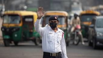 Foto: Contaminación sume a Nueva Delhi, India, en nube tóxica
