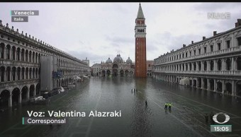FOTO: Continúa la emergencia en Venecia por inundación, 18 noviembre 2019