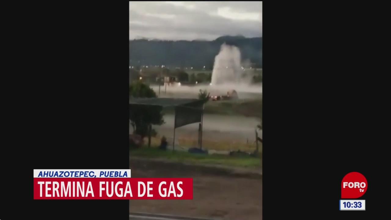 Controlan fuga de hidrocarburo en Ahuazotepec, Puebla