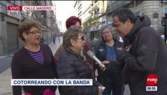 #CotorreandoconlaBanda: 'El Repor' suelto en calle Madero