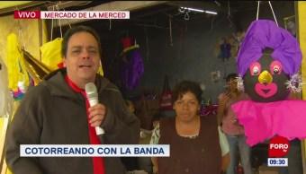 #CotorreandoconlaBanda: 'El Repor' suelto en el Mercado de La Merced