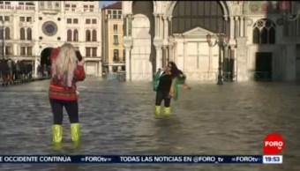 FOTO:Decretan estado de emergencia en Venecia por marea alta, 14 noviembre 2019