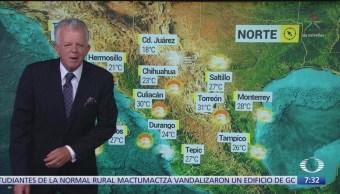 Despierta con tiempo: Frente frío causará bajas temperaturas al norte de México