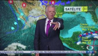 Despierta con Tiempo: Lluvias aisladas en la República Mexicana