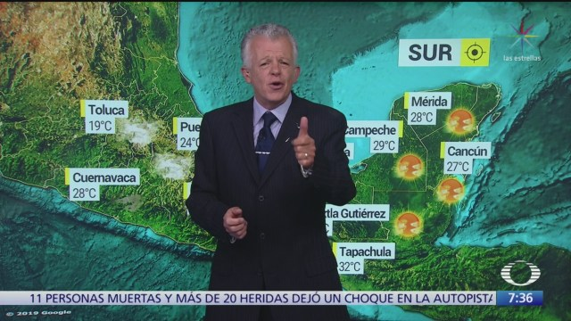 Foto: Despierta con Tiempo Lluvias fuertes Sonora Chihuahua Durango Sinaloa