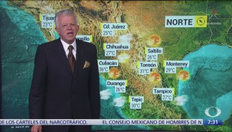 Despierta con Tiempo: Lluvias intensas en Puebla, Veracruz y Oaxaca