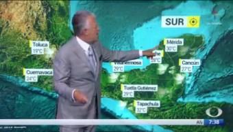 Despierta con Tiempo: Masa de aire frío recorre la República Mexicana