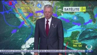 Despierta con Tiempo: Nieve para zonas serranas de BC, Sonora y Chihuahua