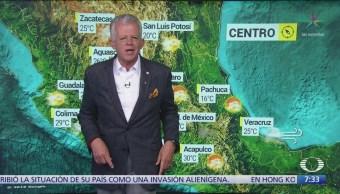 FOTO:Despierta con Tiempo: Prevén lluvias dispersas en la CDMX, 1 noviembre 2019