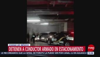 FOTO: Detienen a conductor de camioneta que amenazó a otro con una pistola, 10 noviembre 2019
