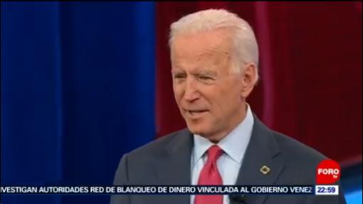 FOTO: Donald Trump 'defiende' a Joe Biden tras mensaje de Corea del Norte, 17 noviembre 2019