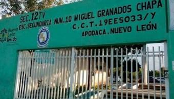Foto: Acusan a directora de secundaria de discriminación por homofobia., 6 de noviembre de 2019 (Twitter @ElGritonDigital)