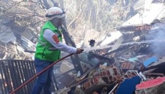 Foto: Explosión en panadería de Oaxaca deja al menos 6 heridos, 21 de noviembre de 2019 (Twitter @fercruzp)
