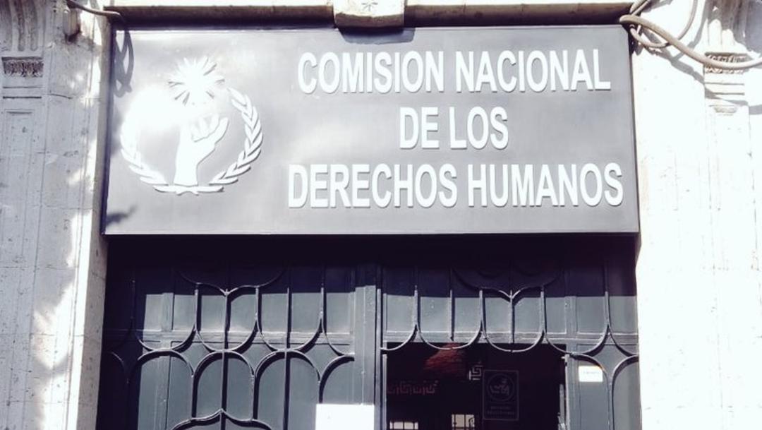 Foto: CNDH dará atención las 24 horas en el Centro Histórico de la CDMX, 23 de noviembre de 2019, (Twitter)