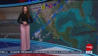 FOTO: Clima con Mayte Carranco 21 noviembre 2019