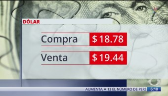 El dólar se vende en $19.44