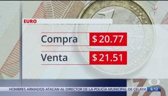 Foto: Dólar se vende 19.48,