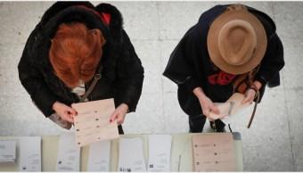 Foto: El PSOE ganó en las elecciones generales en España, 10 de noviembre de 2019 (EFE)