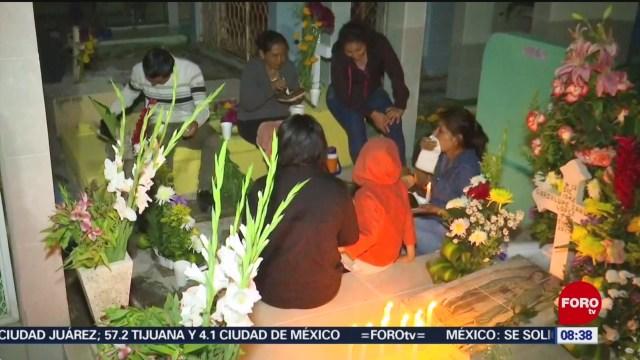 En Chiapa de Corzo realizan velada para esperar a sus difuntos