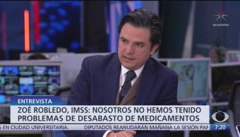Foto: Video Entrevista Zoé Robledo Despierta Niega Desabasto Medicamentos México