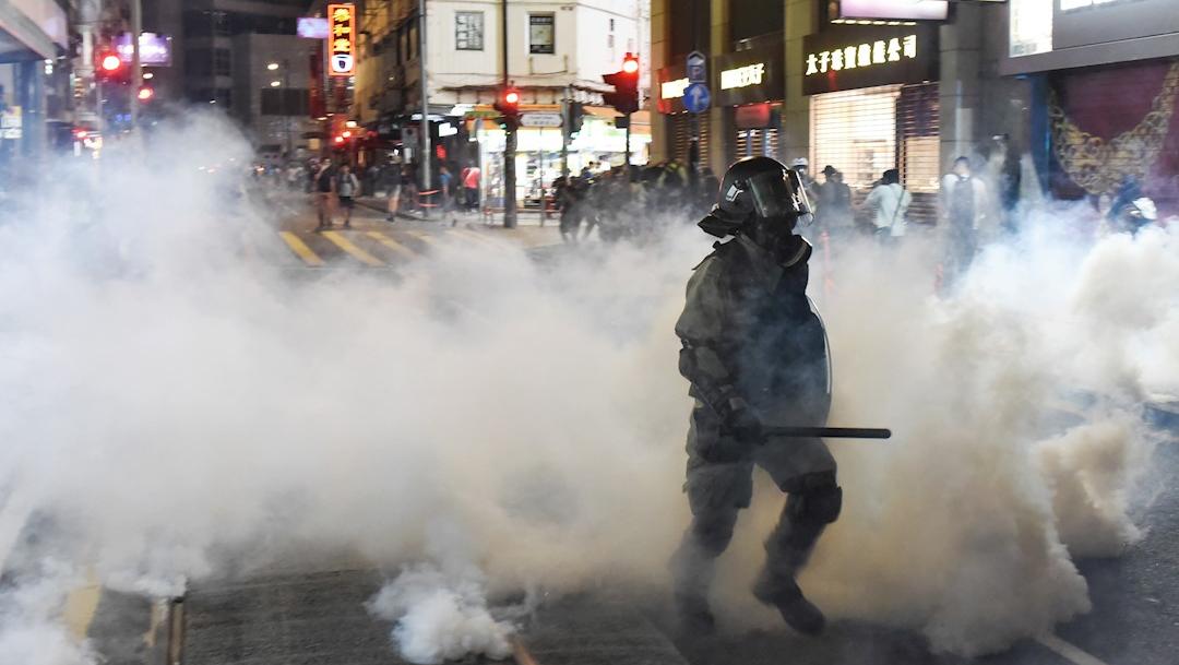 Foto: Se registraron violentos enfrentamientos en Hong Kong entre la Policía y manifestantes. 2 noviembre2019