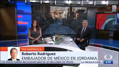 Entrevista con embajador de México en Jordania, en Despierta