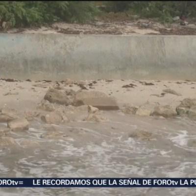Erosión costera en Yucatán