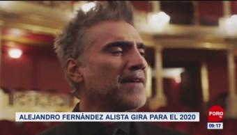 #EspectáculosenExpreso: Alejandro Fernández alista gira para el 2020