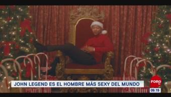 #EspectáculosenExpreso: John Legend es el hombre más sexy del mundo