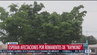 FOTO: Esperan afectaciones por remanentes de 'Raymond' en Sonora, 18 noviembre 2019