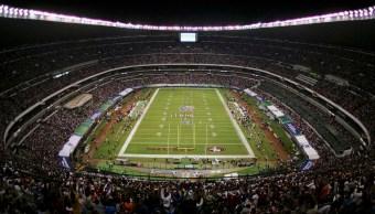 Imagen: El Estadio Azteca se declara listo para la NFL, 17 de noviembre de 2019 (Getty Images)
