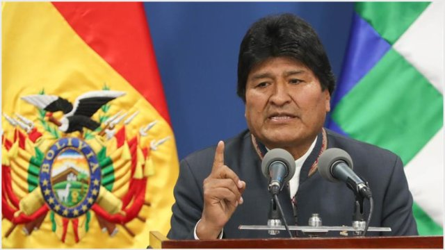 Imagen: Niegan que exista orden de aprehensión contra Evo Morales, 10 de noviembre de 2019 (EFE)