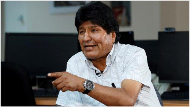 Foto: Evo Morales compartió su sentir por lo que se vive en Bolivia, 17 de noviembre de 2019 (EFE)
