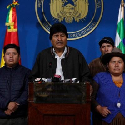 Evo Morales solo aparece en redes tras renunciar a presidencia de Bolivia