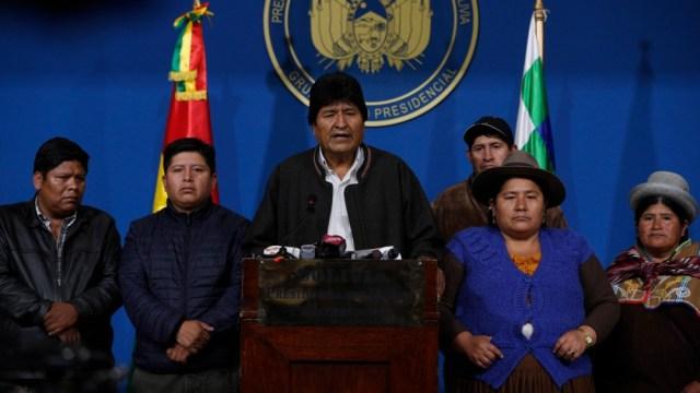 Foto: Evo Morales solo aparece en redes tras renunciar a presidencia de Bolivia