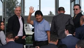 Este martes Evo Morales llegó a México.