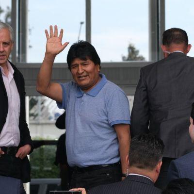Evo Morales califica de 'golpe artero' proclamación de Jeanine Áñez como presidenta