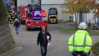FOTO Explosión en mina de Alemania deja 38 atrapados