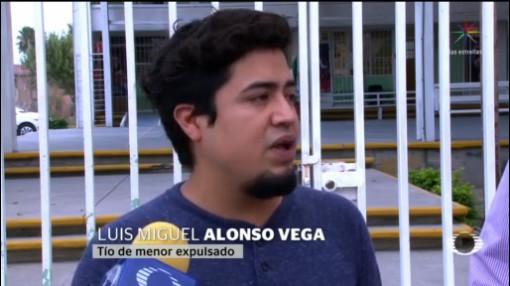 Foto: Expulsan Escuela Menor Vivir Tío Homosexual Gay 8 Noviembre 2019