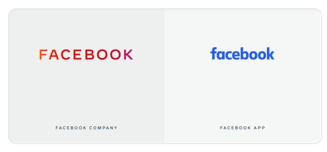 Foto: Nuevo logotipo de Facebook. Facebook