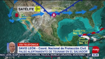 FOTO: Fake news alerta tsunami El Salvador
