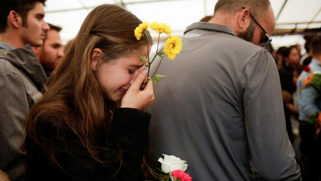 Foto: Familia LeBarón entierra a víctimas de masacre en Sonora, 8 de noviembre de 2019, (Reuters)
