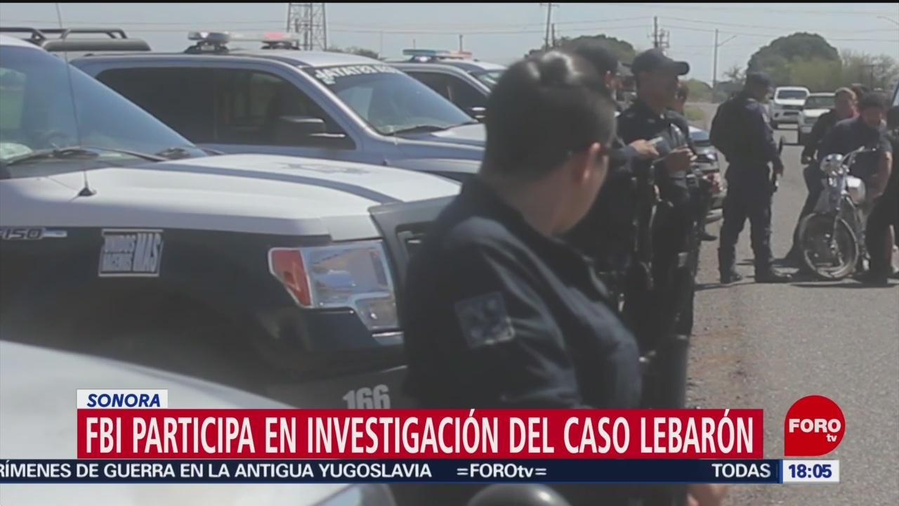 FOTO: FBI coadyuva en caso LeBarón, 15 noviembre 2019