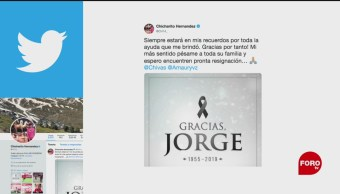 FOTO: Figuras del futbol lamentan muerte de Jorge Vergara, 15 noviembre 2019
