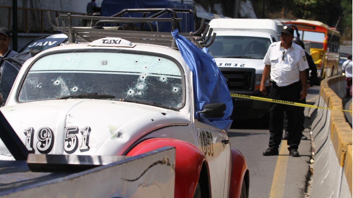 Foto: Asesinan a un taxista en Acapulco, Guerrero. Cuartoscuro